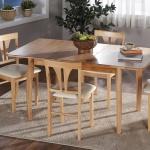 Kahverengi Ahşap Ağaç Bellona Mutfak Masa ve Sandalye Takımı
