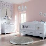 Komple Beyaz Mobilya Bellona Bebek Odası Takımı