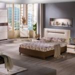 Krem ve Kahverengi Mobilya İstikbal Yatak Odası Takımı 2016