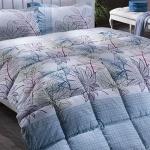 Mavi Çiçekli Bellona Uyku Seti 2016