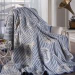 Mavi Beyaz Bellona Battaniye Modeli 2016