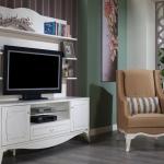 Beyaz Renk İstikbal TV Ünitesi Modeleri 2016