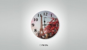Eyfel Kulesi İstikbal Dekoratif Saat Modeli