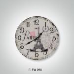 Eyfel Kulesi 2 İstikbal Dekoratif Saat Modeli