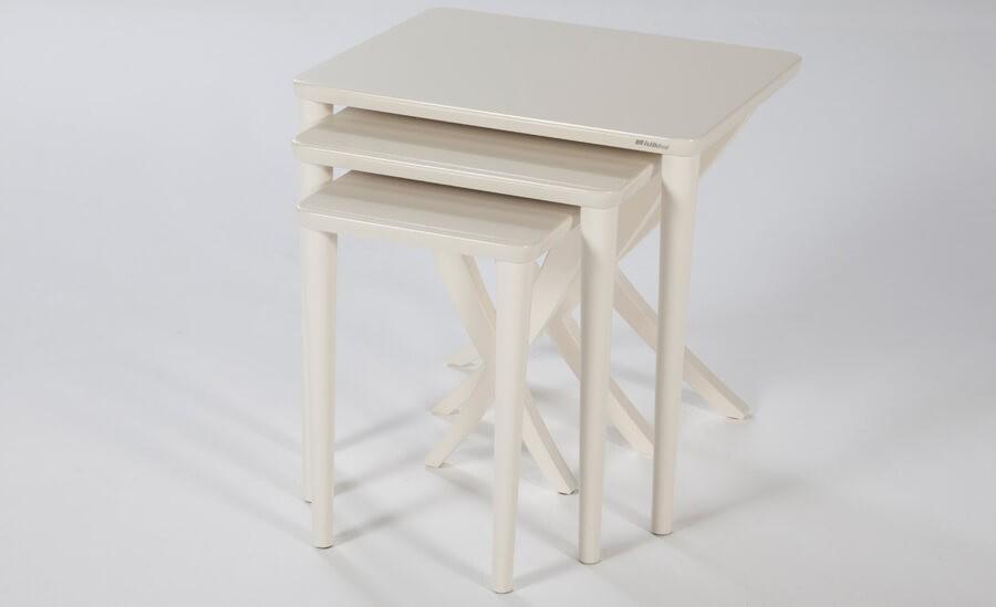 Full Beyaz İstikbal Zigon Sehpa Modeli 2016