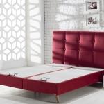 Kırmızı İstikbal Yatak ve Baza Modeli 2016