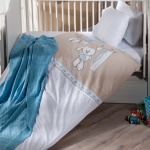 Kahverengi İstikbal Bebek Uyku Seti Modeli 2016