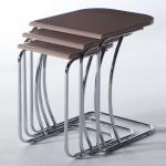 Kahverengi Metal Ayak İstikbal Zigon Sehpa Modeli 2016