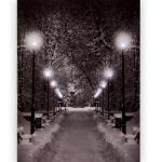 Karlı Akşam İstikbal Ledli Lamba Modeli