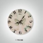 Kelebekli İstikbal Dekoratif Saat Modeli