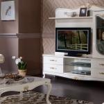 Krem 2 İstikbal TV Ünitesi Modeleri 2016