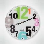 Renkli İstikbal Dekoratif Saat Modeli