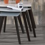 Siyah Beyaz Zigon Sehpa Modeli
