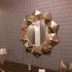 Yıldız Şeklinde Dekoratif Ayna Modeli