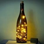 Şişe dekoratif gece lambası