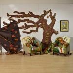 Ağaç Dekoratif Ev Aksesuarı