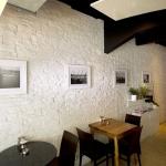 Beyaz Dekoratif İç Cephe Taş Duvar Kaplama