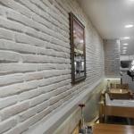 Beyaz Dekoratif Tuğla Duvar Kaplama