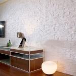 Beyaz Taş 2 Dekoratif Duvar Paneli