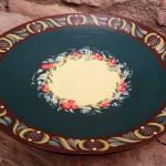 Doğal dekoratif tabak ve kase modeli