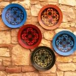 Duvar için dekoratif tabak ve kase modeli