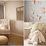 Kağıttan Kelebek Dekoratif Duvar Süsü