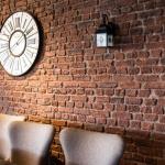 Kahverengi Dekoratif Tuğla Duvar Kaplama