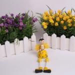 Mor Turuncu dekoratif yapay çiçek modeli