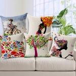 Rengarenk Dekoratif Yastık Modelleri