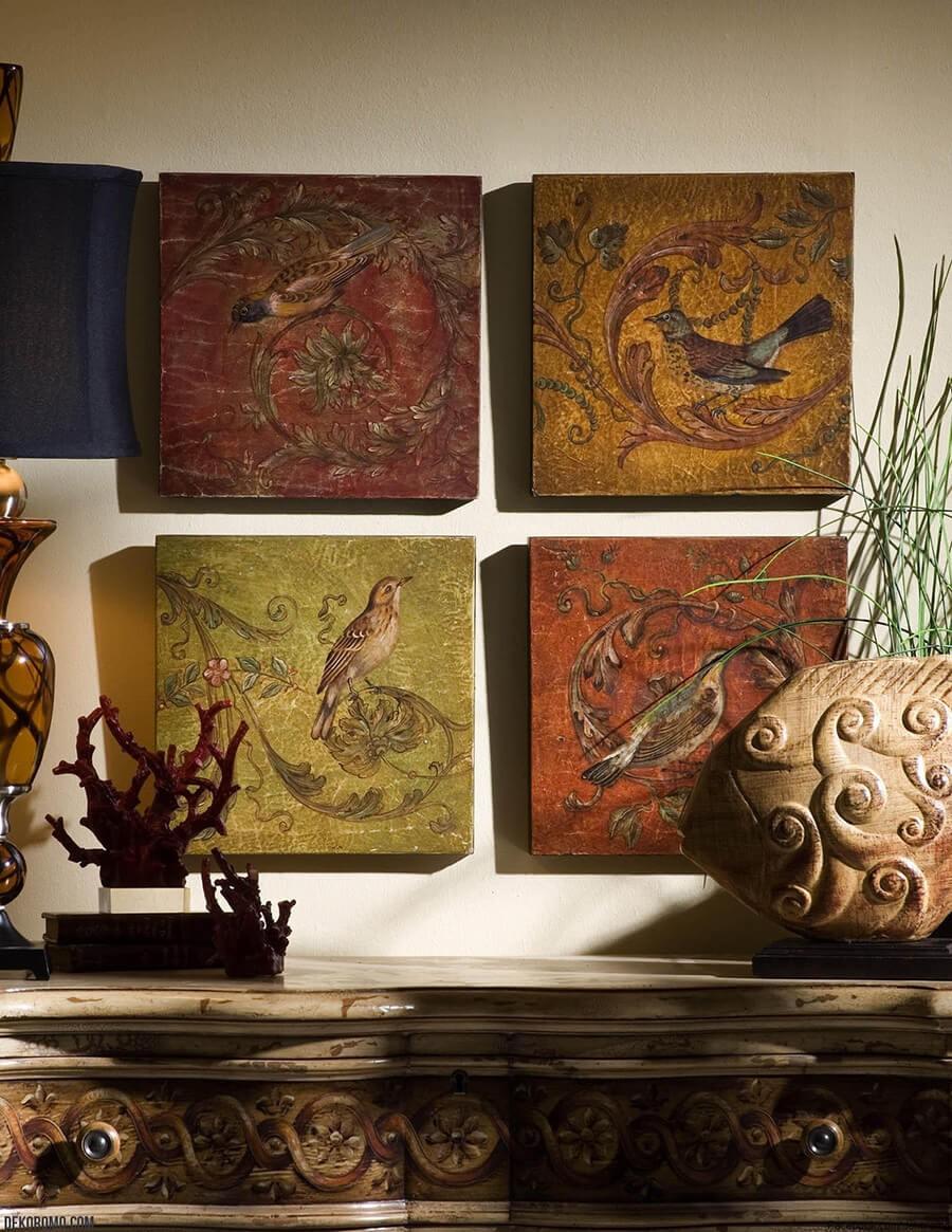 Tablo Dekoratif Duvar Süsü