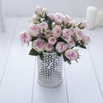 Toz Pembe Gül dekoratif yapay çiçek modeli
