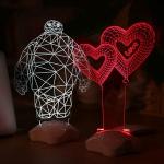 kızlar ve erkekler için dekoratif gece lamba modeli