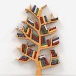 Çınar Ağacı Dekoratif Kitaplık Raf Modelleri