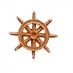 Altın renginde Dekoratif Gemi Dümeni