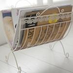 Metal Dekoratif Dergi ve Gazetelik Modelleri