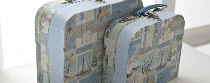 Valiz Şeklinde Dekoratif Kutu Modeli