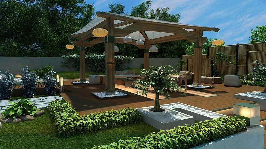 Bahçe Kamelya Modelleri 4