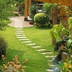 Bahçe Yolu Dekorasyonu 1