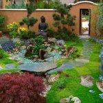 Bahçe Yolu Dekorasyonu 2
