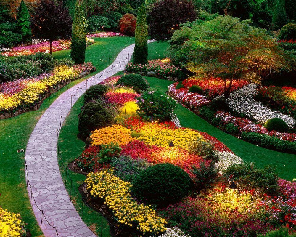 Bahçe Yolu Dekorasyonu 4