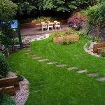 Bahçe Yolu Dekorasyonu 5