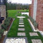 Bahçe Yolu Dekorasyonu 6