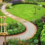 Bahçe Yolu Dekorasyonu 8