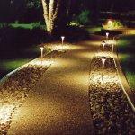 Bahçe yolu aydınlatma 2
