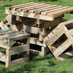 Masa Sandalye Takımı Bahçe Aksesuarı