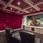 Sinema Odası Lüks Ev Dekorasyonu