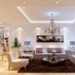 beyaz-tavan-dekorasyon