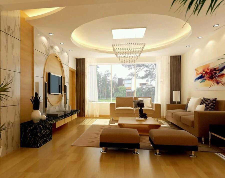 oval-tavan-dekorasyon