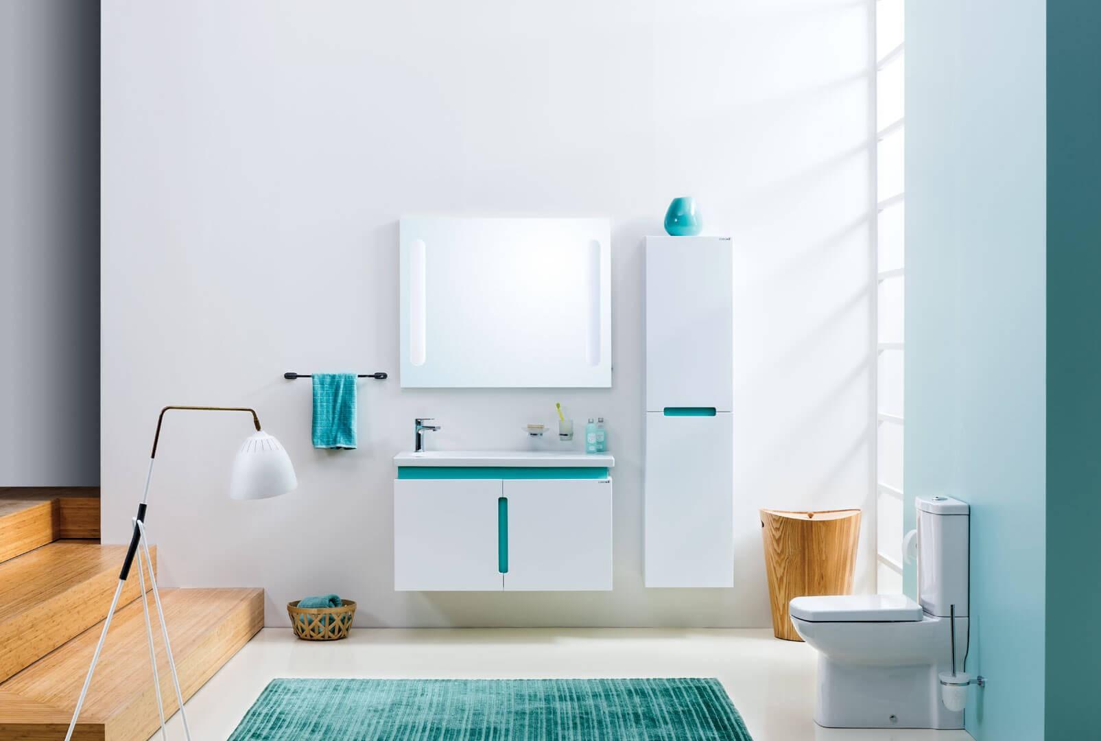 turkuaz-renk-banyo-dekorasyon