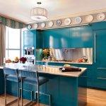 turkuaz-renk-mutfak-dolaplari